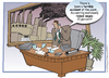 Cartoon: Another Workplace Tragedy (small) by carol-simpson tagged workplace,wages,unions,labor,accounting,industry