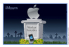 Cartoon: iMourn (small) by carol-simpson tagged apple,suicides,labor,ipad,iphone,unions