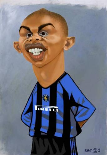 Cartoon: Samuel Etoo (medium) by Senad tagged samuel,etoo,senad,nadarevic,bosnia,bosna,karikatura