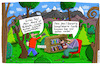 Cartoon: Bublath (small) by Leichnam tagged bublath,wald,bücher,kompliziert,primitiv,regal,leichnam,leichnamcartoon