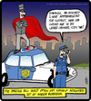 Cartoon: Magician Arrest (small) by cartertoons tagged magic,magicians,tricks,police,law,enforcement,crime,entertainment,boredom,fun,games