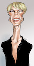Cartoon: Robin Wright (small) by Damien Glez tagged robin,wright,actress,united,staes,house,of,cards