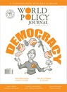 Cartoon: World Policy Journal Cover (small) by Damien Glez tagged cover,world,policy,journal,democracy