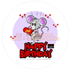Cartoon: Cartoon Verpackungs Design (small) by FeliXfromAC tagged birthday happy lila lovecrazy leo animal tier musik music maus love liebe mice mouse package kuchenschachtel schachtel verpackung illustration comic cartoon illustrator aachen germany sympathiefigur mascot character line design horst reinhard alias felix