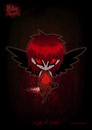 Cartoon: fallen angels - angel of blood (small) by volkertoons tagged engel angel angels