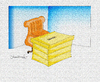 Cartoon: DEMOCRACY (small) by halisdokgoz tagged democracy