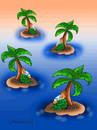 Cartoon: Deserted island (small) by halisdokgoz tagged deserted,island,dokgoz