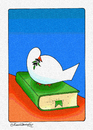 Cartoon: PEACE NOW (small) by halisdokgoz tagged peace,now