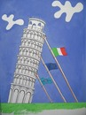 Cartoon: The tower Piza (small) by Tural Hasanli tagged tural,hasanli