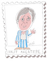 Cartoon: Halit Akcatepe (small) by Hayati tagged halit,akcatepe,schauspieler,oyuncu,akteur,istanbul,hayati,boyacioglu,berlin