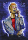 Cartoon: GOODBYE ROBIN GIBB!! (small) by donquichotte tagged beegees