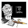 Cartoon: GREAT MASTER TURHAN SELCUK-2 (small) by donquichotte tagged ts2