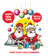 Cartoon: HAPPY NEW YEAR (small) by donquichotte tagged 2011
