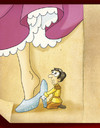 Cartoon: Divorce (small) by Nicoleta Ionescu tagged cinderella divorce couple