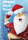 Cartoon: Happy New Year (small) by Nicoleta Ionescu tagged happy,new,year,santa,2011,christmas