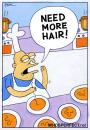 Cartoon: hair (small) by WHOSPERFECT tagged hair