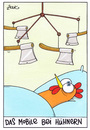 Cartoon: huhn (small) by WHOSPERFECT tagged mobile huhn hühner chicken