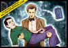 Cartoon: doctor who and mr. bean (small) by matan_kohn tagged doctor,who,and,mr,bean,matan,kohn,funny