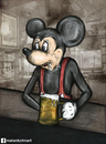 Cartoon: The real mickey mouse (small) by matan_kohn tagged real,mickey,mouse