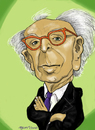 Cartoon: Aaron Copland (small) by frostyhut tagged aaron,copland,composer,music,classical,american