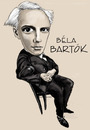 Cartoon: Bela Bartok (small) by frostyhut tagged bartok classical music contemporary hungarian composer