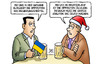 Cartoon: Blockade Ukraine (small) by Harm Bengen tagged blockade,ukarine,opposition,regierung,regierungsviertel,grosse,koalition,harm,bengen,cartoon,karikatur