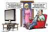 Cartoon: Jolie-Brüste (small) by Harm Bengen tagged demografiegipfel,nsu,prozess,streiks,neuigkeiten,tv,angelina,jolie,brüste,busen,amputieren,brustkrebs,harm,bengen,cartoon,karikatur