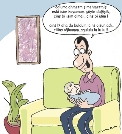 Cartoon: Bebege isim (medium) by cizofreni tagged bebek,isim,dogum,baba