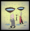 Cartoon: Drought (small) by cizofreni tagged drought,numan,cizofreni,kuraklik,su,water,rain,yagmur
