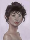 Cartoon: Kate Bush (small) by jonesmac2006 tagged kate bush caricature