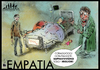 Cartoon: EMPATIA (small) by csamcram tagged empatia,evoluzione,stupid,people