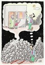 Cartoon: Earthquake (small) by Murat tagged earthquake