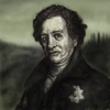Cartoon: j. w. goethe (small) by nootoon tagged goethe,ilmenau,nootoon,illustration,geheimrat,der,neue,digital,gräve