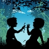 Cartoon: june (small) by nootoon tagged calendar kids illustration germany nootoon silhouettes