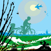 Cartoon: march (small) by nootoon tagged germany,2012,2013,nootoon,kids,illustration,calender,silhouettes,digital,year,month
