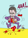 Cartoon: 01 (small) by Rasit Yakali tagged sarkozy