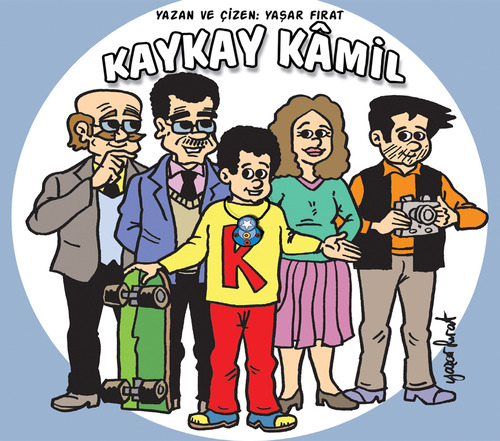 Cartoon: Kaykay Kamil (medium) by komikadam tagged write,and,draw,comic,book,hero