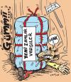 Cartoon: no war (small) by komikadam tagged economic,crisis