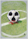 Cartoon: football (small) by ASKIN AYRANCIOGLU tagged football