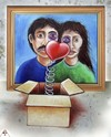 Cartoon: valentine (small) by ASKIN AYRANCIOGLU tagged valentine