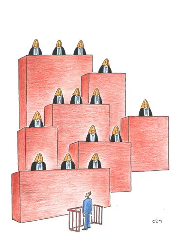 Cartoon: courts (medium) by cemkoc tagged ko,cem,karikatürleri,hukuk,cartoons,law