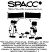 Cartoon: Blackout-SPACC (small) by Andreas Pfeifle tagged sopa,pipa,acta,internet,blackout,ip,intellectual,property,piracy