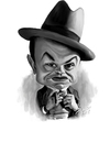 Cartoon: Edward G Robinson (small) by rocksaw tagged caricature,study,edward,robinson