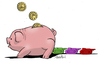 Cartoon: War economy (small) by Atride tagged banks,weapons,war,capitalism,business