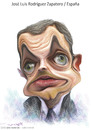 Cartoon: jose luis rodriguez  zapataro (small) by allan mcdonald tagged espain