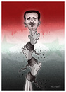 Cartoon: THE SYRIAN REVOLT !.. (small) by ismail dogan tagged syria