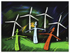 Cartoon: WIND !.. (small) by ismail dogan tagged wind