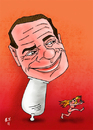 Cartoon: berlusconi (small) by emre yilmaz tagged berlusconi