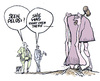 Cartoon: where to hide (small) by barbeefish tagged pelosi