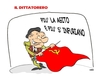 Cartoon: IL DITTATORERO (small) by uber tagged berlusconi,italia,sinistra,destra,politica,comunismo
